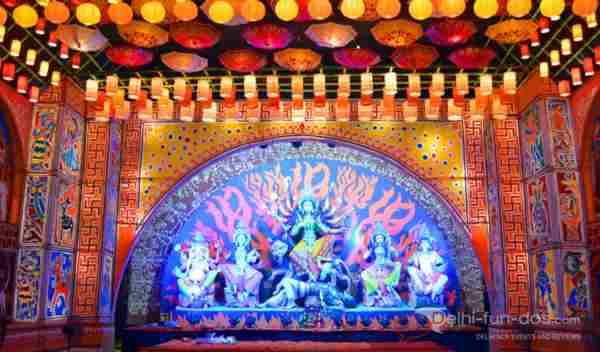 Durga Puja Pandal Photos