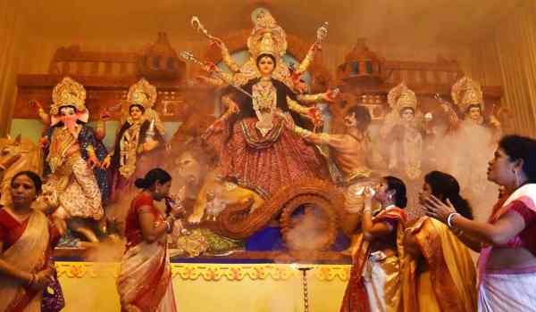 Durga Puja wishes in Hindi