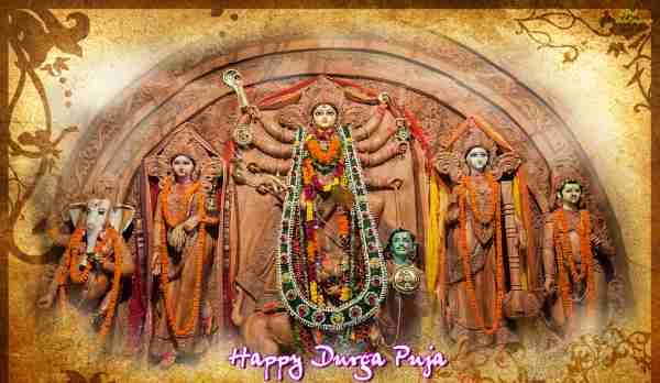 Durga puja message 2018