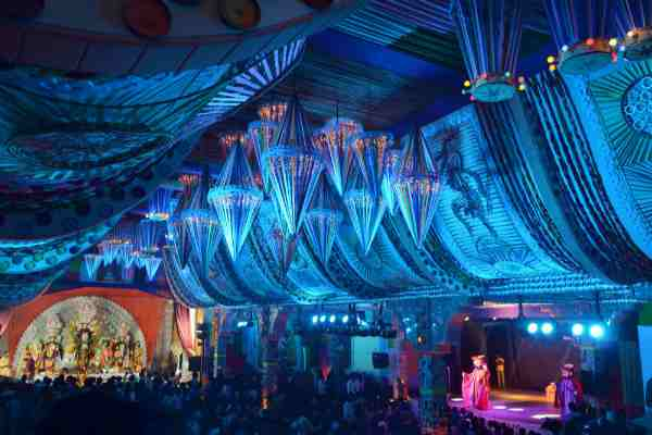 Durga puja pandal images