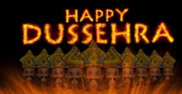 Dussehra Puja Invitation to Employees