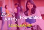 Fair and lovely scholarship 2018 application