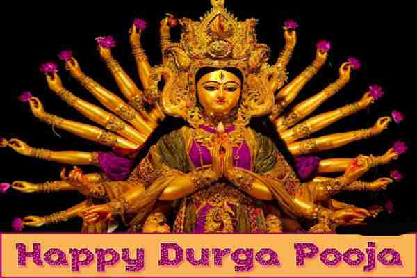 Happy durga ashtami image