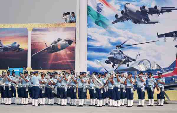 Indian Air Force Day Drawing