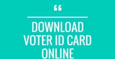 MP Voter Id Card Download