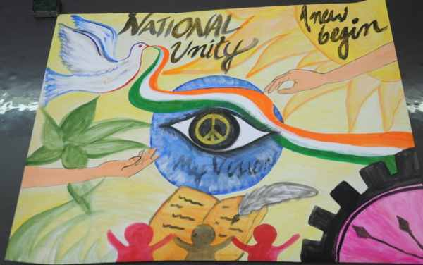 National Unity Day Drawing