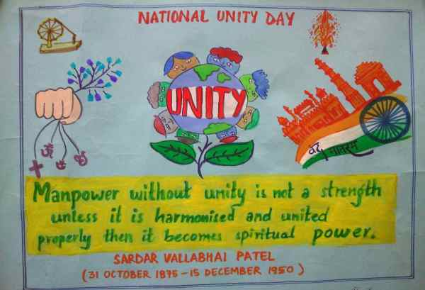 National Unity Day painting