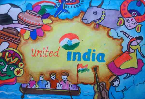 National integration day Banner