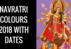 Navratri Colours for Nine Days