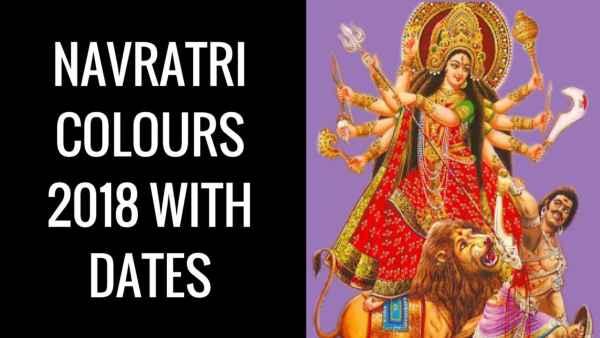 Navratri Colours for Nine Days