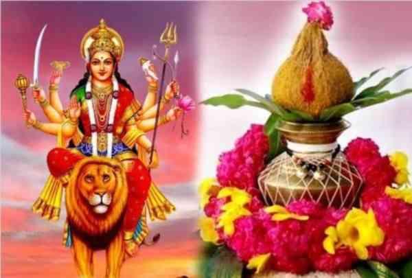 Navratri Ghatasthapana Vidhi in Marathi