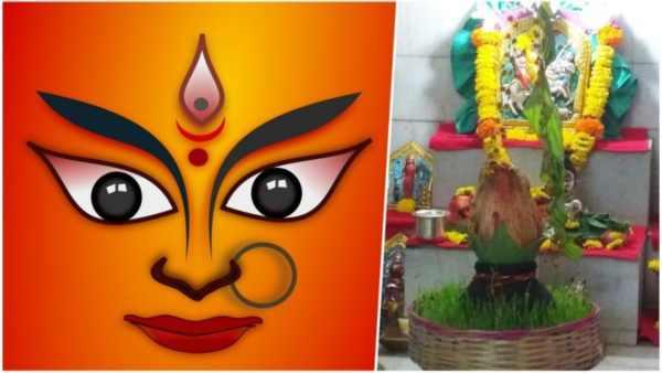 Navratri ghatasthapana images