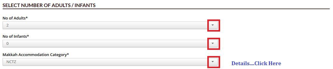 haj committee application form 2