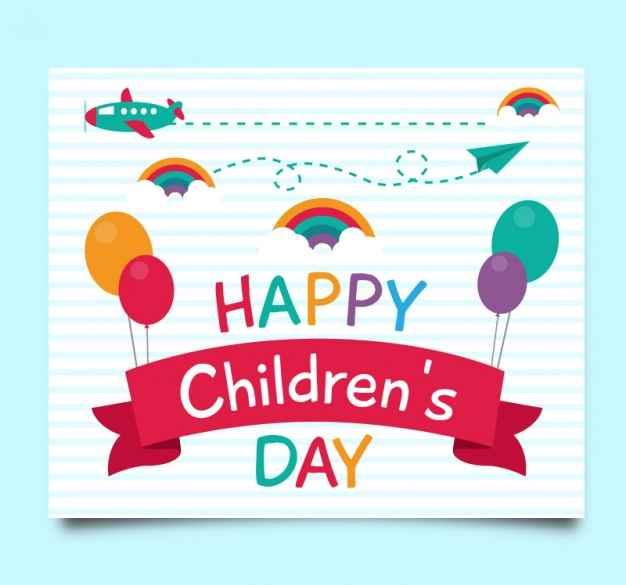 Children's day greetiing cards India