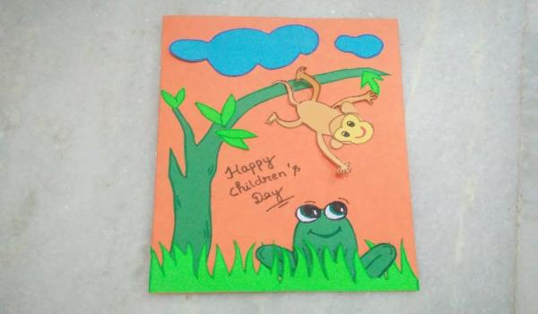 Children's day greeting cards