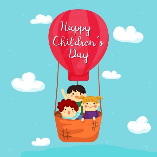 Children's day greeting cards freee