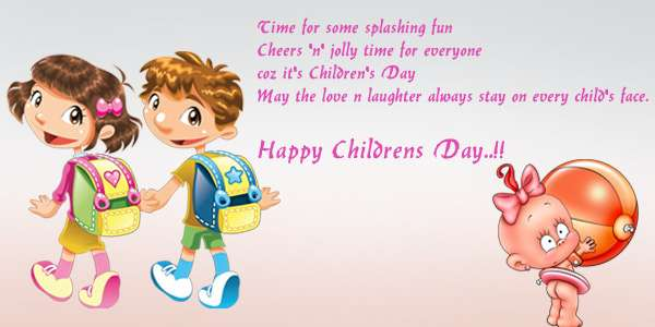 Children's day thoughts in english