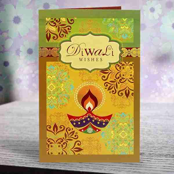 Deepawali greeting card