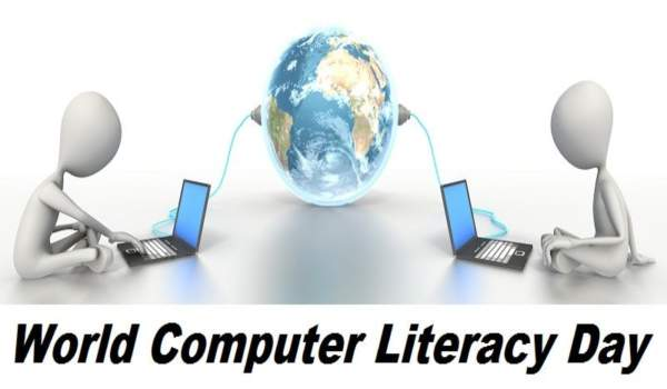 International computer literacy day poster