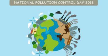 राष्ट्रीय प्रदूषण नियंत्रण दिवस पर चित्र