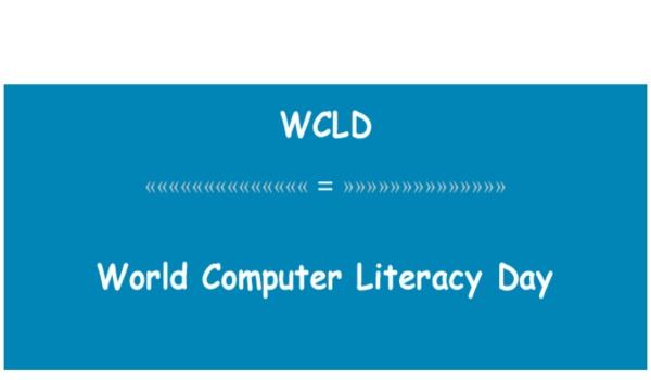 World Computer Literacy Day Speech