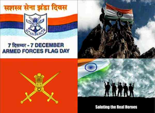 armed forces flag day 2018 pics