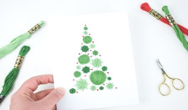 Christmas card to make