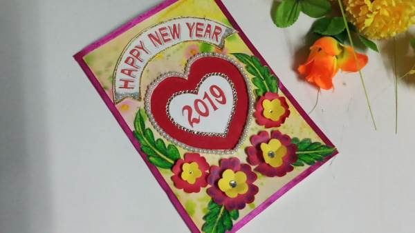 Desig a new year card