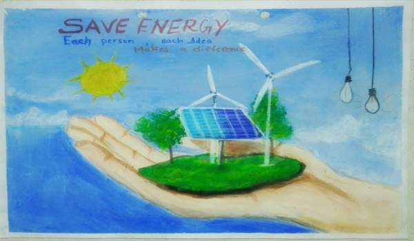 Energy conservation drawing competition