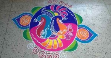 Happy new year rangoli design gallery & images