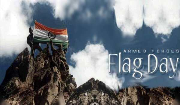 indian armed forces flag day photos