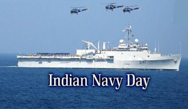 Indian Navy Day Status in Hindi