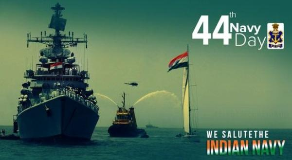 Indian navy Day Quotes