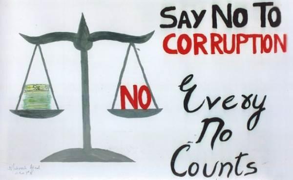 International anti corruption day drawing HD