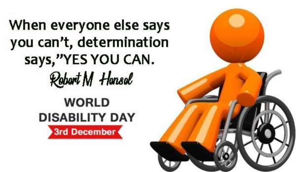 International day of disabled person quotes