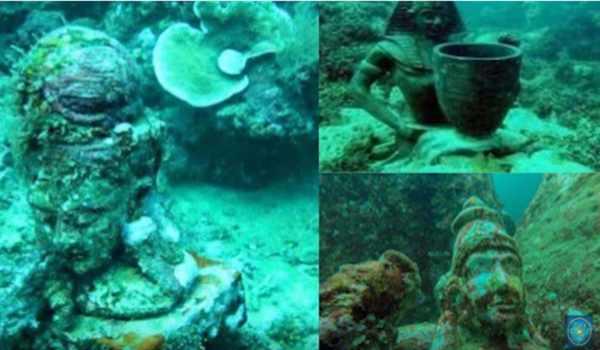 Kumari kandam underwater
