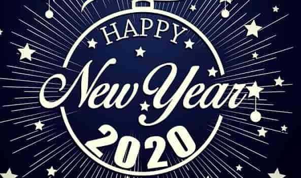 NEW YEAR 2020 STATUS WALLPAPER