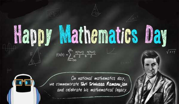 National mathematics day images