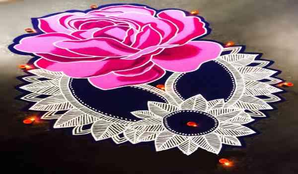 New year rangoli images