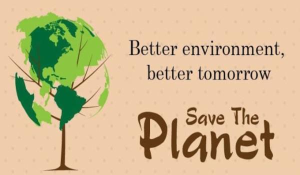Slogan on environment
