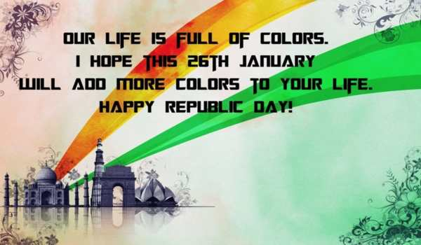 Republic day status images