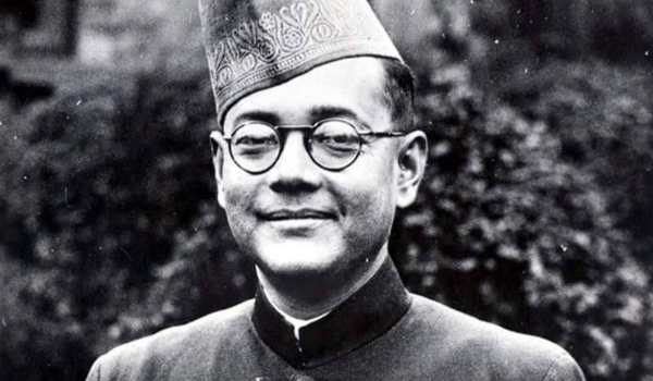 The picture of subhash chandra bose