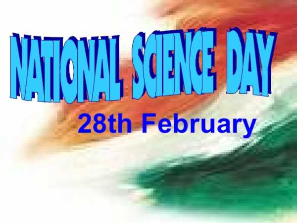 National science day activities