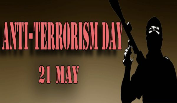 Anti Terrorism Day slogans in english