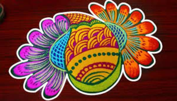 Ganesh Rangoli Designs With Pictures