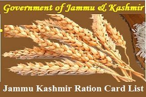 Jammu & Kashmir Ration Card List Download Online