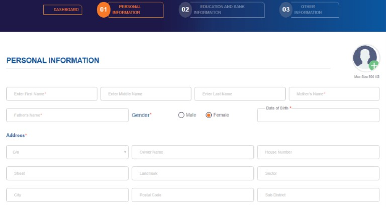 Khelo india registration form 2020
