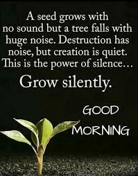 good -morning-a seed grows- quotes