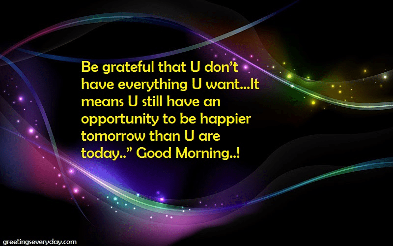 good -morning-be grateful- quotes