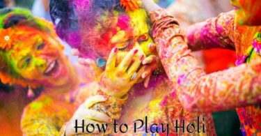 Holi Safety Tips